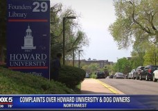 Gentrifiers Are Now Walking Their Dogs on Howard University's Campus