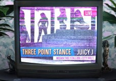 "Juicy J Feat. City Girls & Megan Thee Stallion – ""Three Point Stance"""