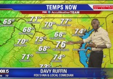 LMAO: Davy Ruffin Takes Over The Weather On FOX 5 DC