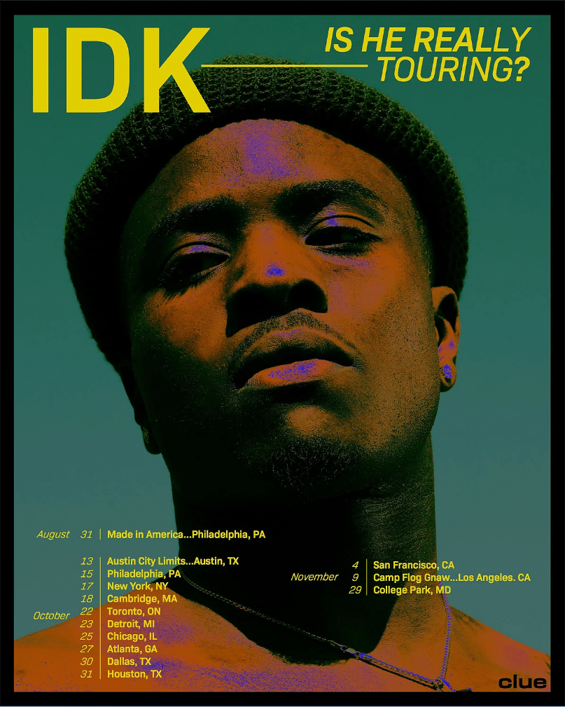 IDK Announces 'Is He Real?' Release Date, Tour