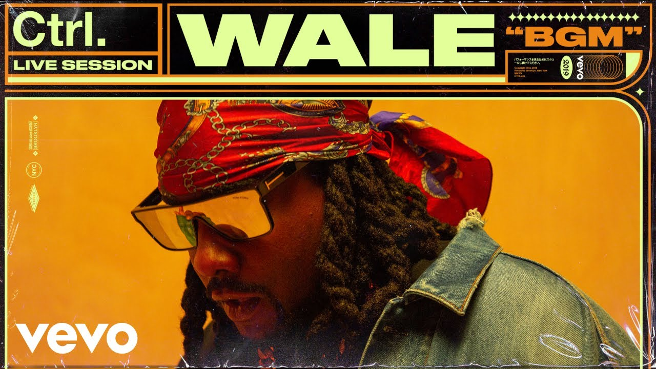 """Wale Performs """"BGM"""" for Vevo Ctrl (Video)"""