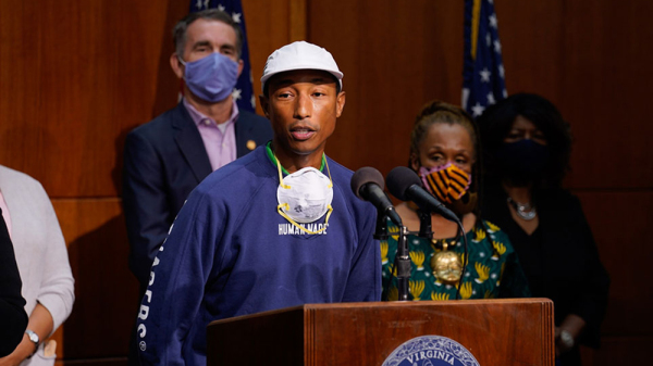 Pharrell Williams & VA Gov. Ralph Northam Announce Juneteenth As A State Holiday