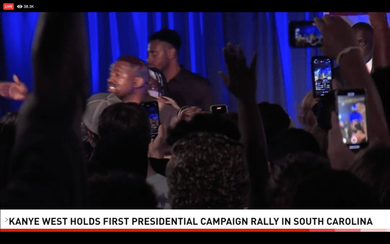VIDEO: Kanye West Holds First Presidential Campaign Rally (Livestream)