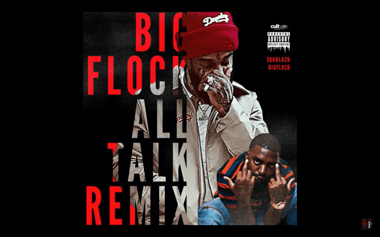 "3ohBlack ft. Big Flock – ""All Talk"" (Remix)"