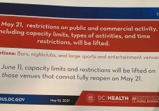 Mayor Bowser Is Lifting Most COVID-19 Capacity Restrictions This Month