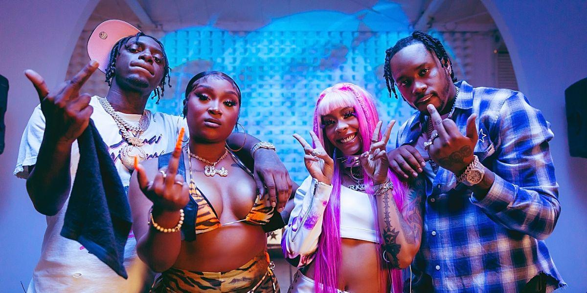 BET Hip Hop Awards Cypher with Erica Banks, Fivio Foreign, Sleepy Hallow & Rico Nasty (Video)