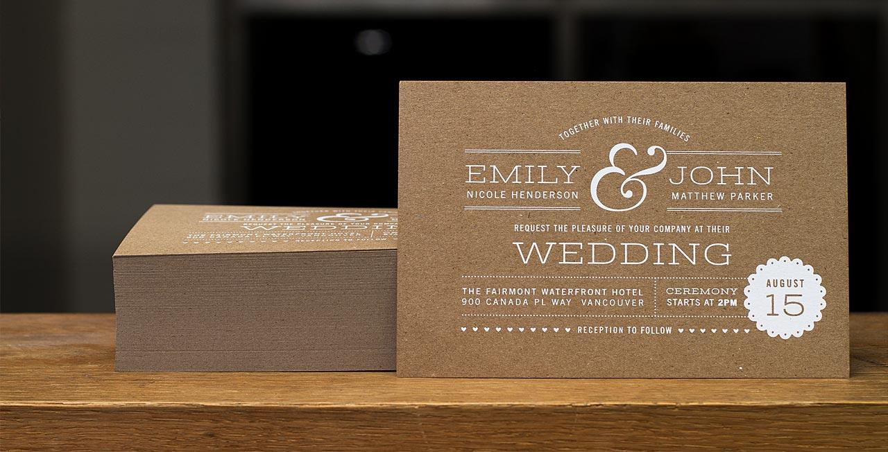 Custom Printed Wedding Invitations  Design your Wedding Invitations from Jukebox