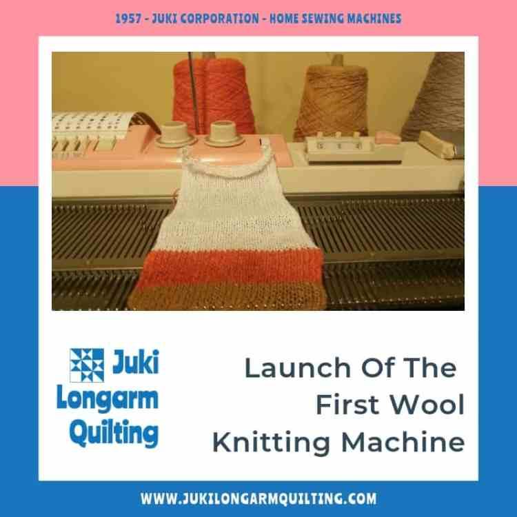 Industrial Sewing Timeline 1950-1959 - Juki Longarm Quilting