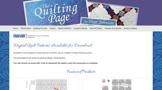 The Quilting Page