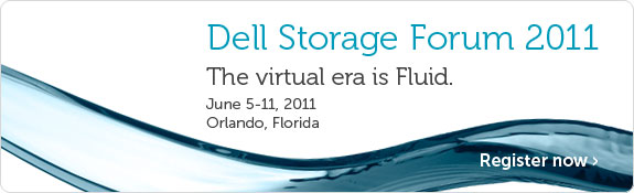 Dell Storage Forum – New product announcements