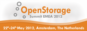 OpenStorage Summit EMEA 2012, I'll be there.