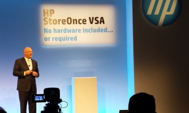 HP StoreOnce VSA: not a killer but a cool product!