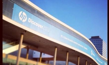 HP Discover: No news, good news!