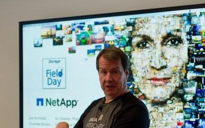 NetApp, cloudier than ever
