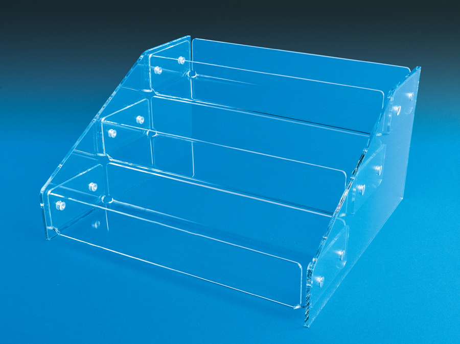 tiered display trays
