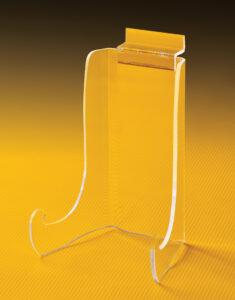 upright slatwall easel