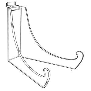 slatwall long legged easel