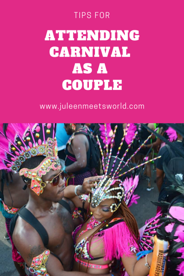 attending carnival as a couple
