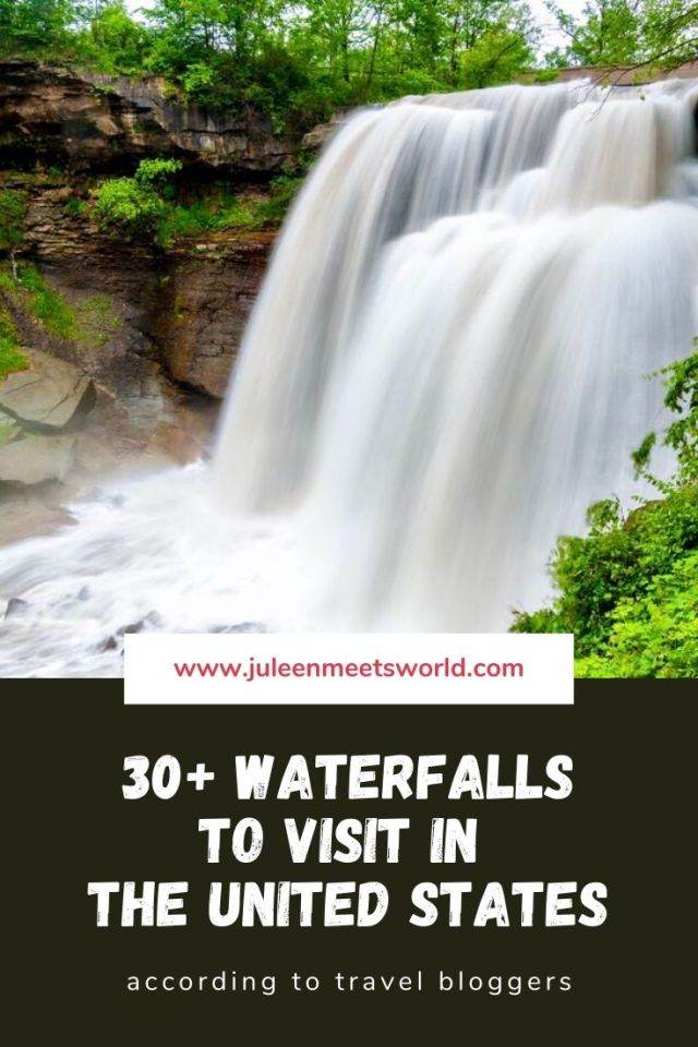 Best USA Waterfall