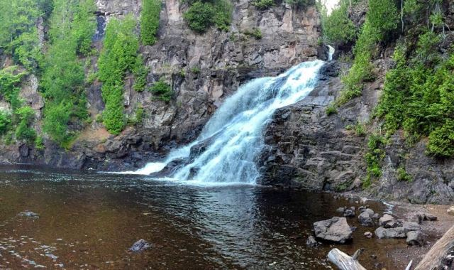 Caribou Falls Minnesota