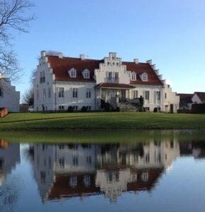 Boltinggaard Gods hvor en del af Tinka og Kongespillet er optaget