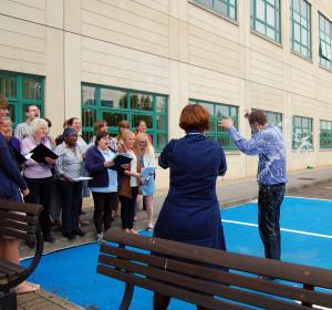 GWH Trust Choir & Choirmaster Jules Addison