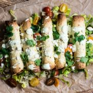 Avocado and Chorizo Breakfast Taquitos