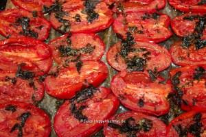Im Ofen geröstete Tomaten