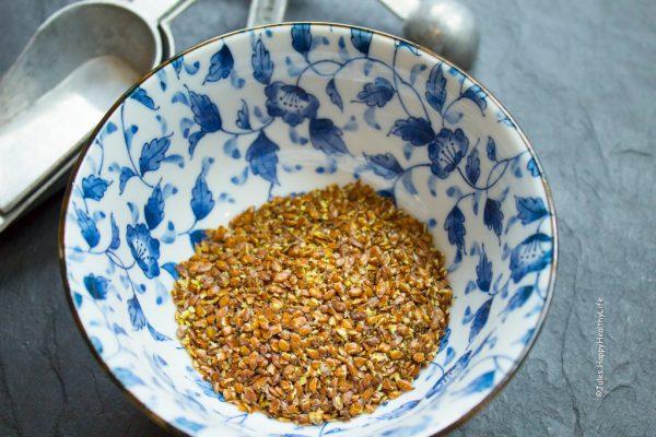 Flaxseed Egg - Jules HappyHealthyLife Food Blog