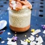 Erdnussbutter Chiasamen Pudding - Jules HappyHealthyLife