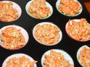 Karotten Apfel Muffins in Muffinformen - Jules HappyHealthyLife
