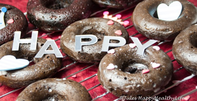 BAKED CHOCOLATE DONUTS (GF)