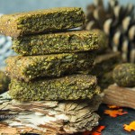 Matcha Riegel mit gekeimtem Hanf glutenfrei, vegan, kein raffinierter Zucker