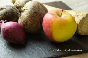 Ingredients for beetroot soup Food Blog