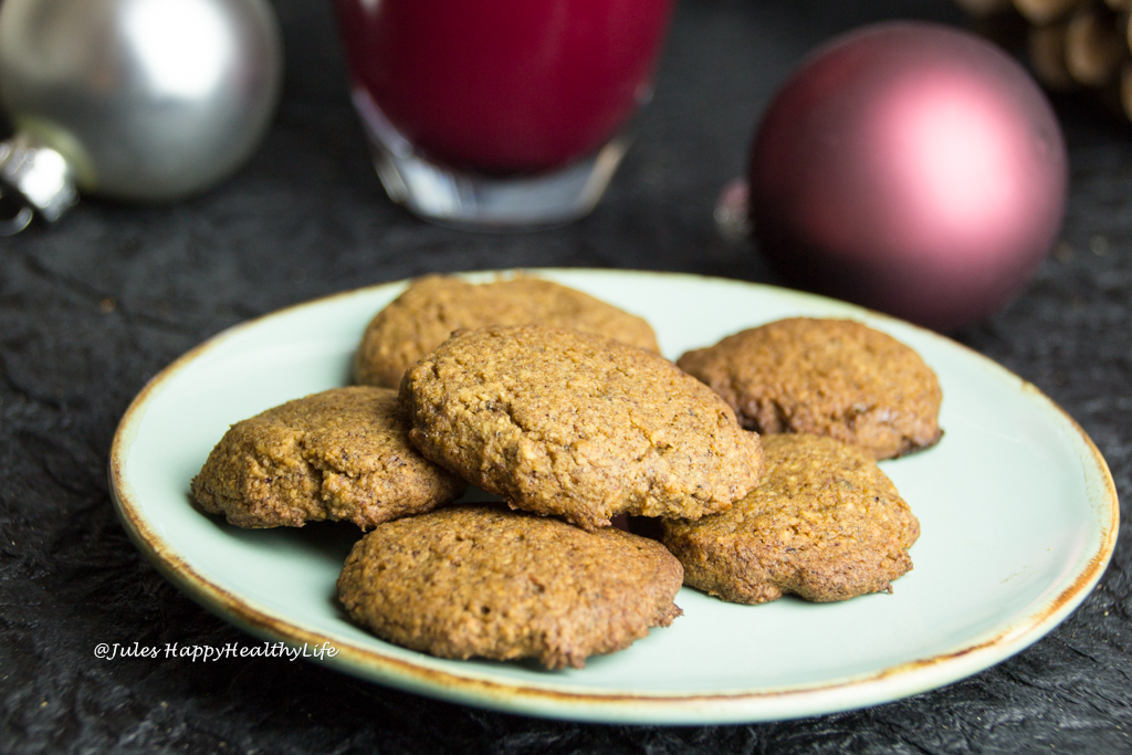 Gluten free Gingersnap Cookies for Christmas