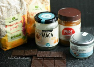 Ingredients for Peanut Butter Chocolate Bars