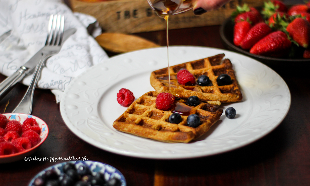 Recipe for easy gluten free waffles