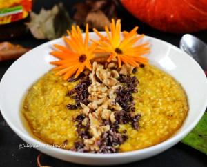 Recipe for gluten free, vegan Pumpkin Buckwheat Porridge