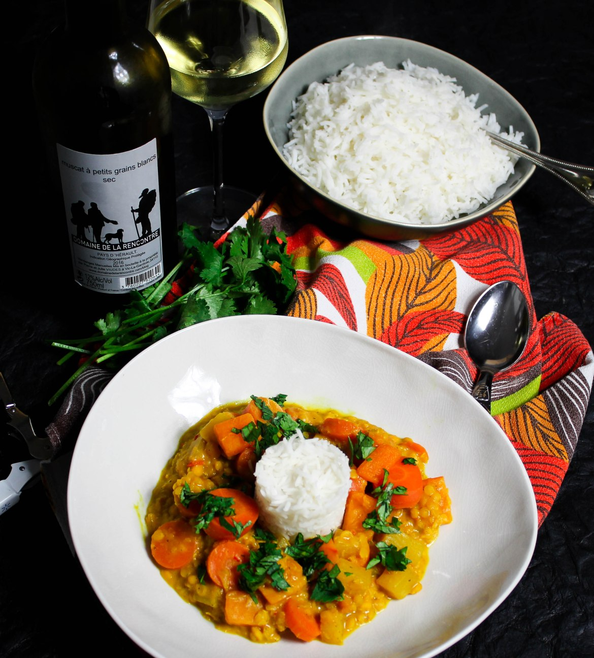Spicy Yellow Vegetable Curry