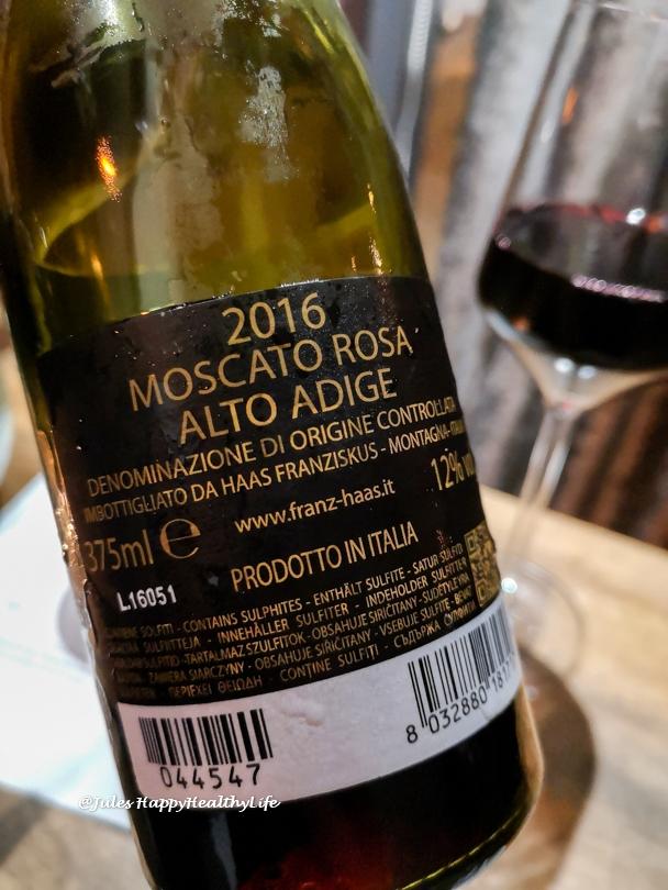 2016 Moscato Rosa von Franz Haas - Dessertwein aus Alto Adige