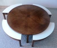 Mid Century Modern Nesting Coffee Table - Julesmoderne.com