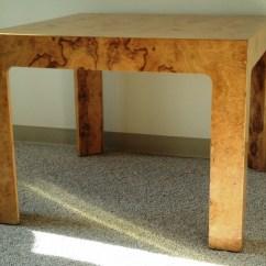 Teal Parsons Chair Antique Cane Rocking For Sale Burled Elm Table - Julesmoderne.com