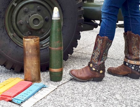 Big ammunition and JuJu boots