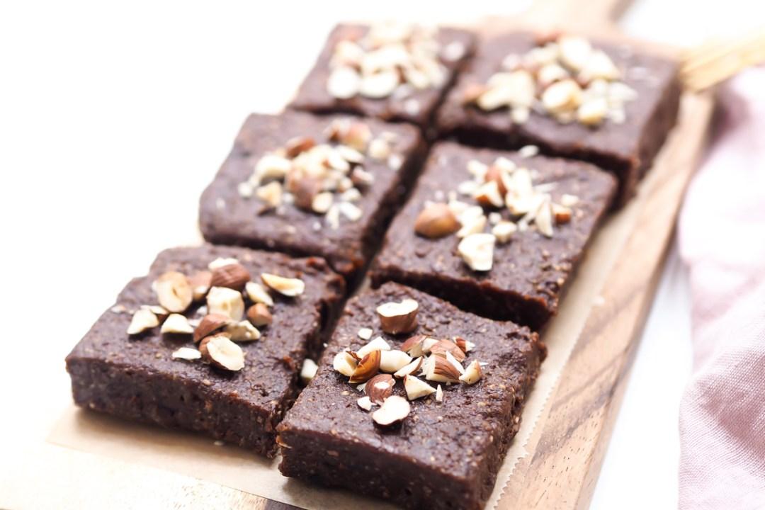 Rohvegane Brownies