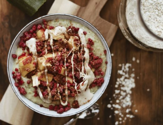 Zucchini Protein Porridge