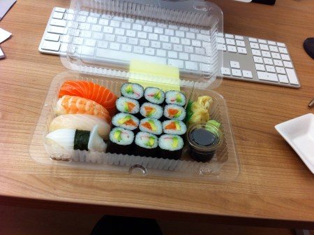 Menü Nr. 5 von Edo Sushi #nomnomnom