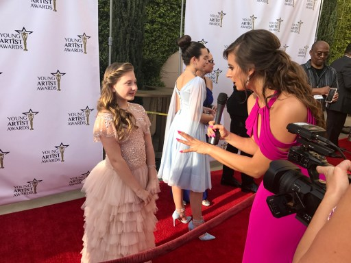 Red Carpet at the Young Artist Awards in L.A.