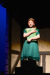 Julia as Young Fiona in Shrek