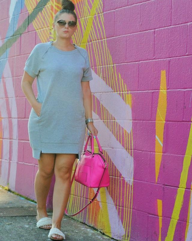 BCBG Sweatshirt Dress