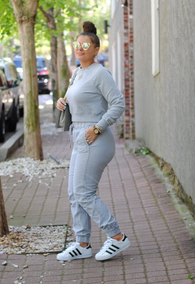 Casual Chic Athleisure Jogger Set